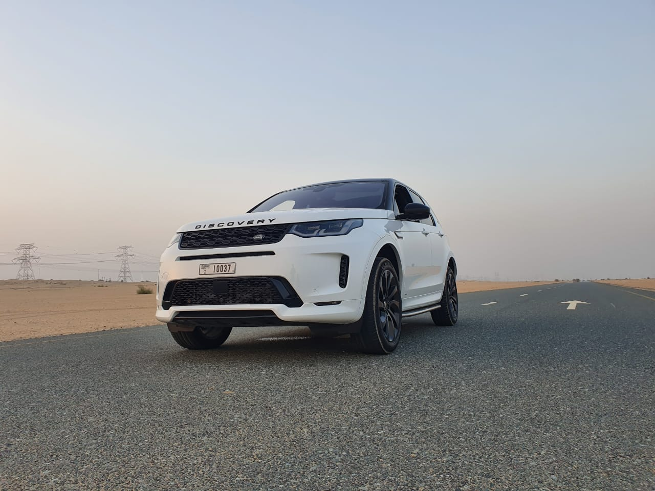 The Land Rover Discovery Sport Driven In Dubai