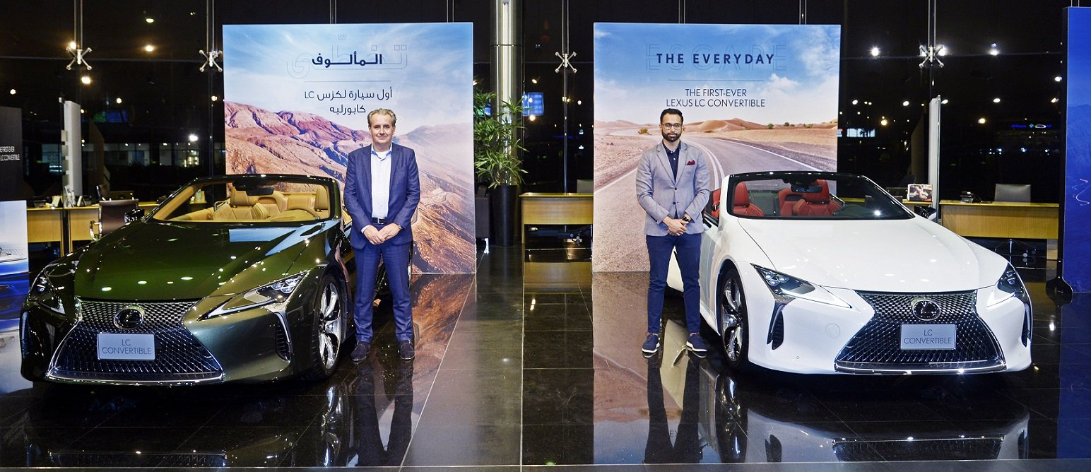 First-ever Lexus LC 500 Convertible launched in UAE.